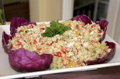 Quinoa Salad  http://cookingwithmelody.com/all-recipes/starters/quinoa-salad/