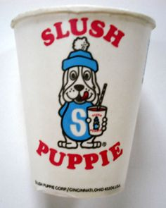 Slush Puppies.  I loved the Cherry flavoured ones. <3