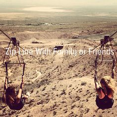 Bucket list: brave the heights and zip-line with family or friends!