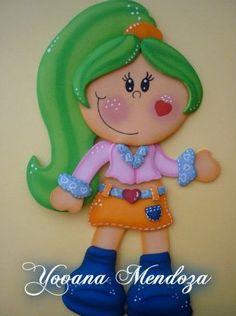 Muñeca en microporoso n1
