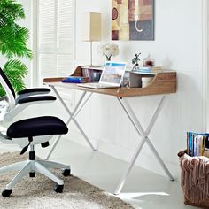 - Info - Dimensions The problem with work desks is that while they do much, they often say little. Zen corrects the issue of desk apathy by helping you keep everything you need in plain sight. Whether