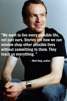 Quote - Matt Haig