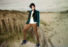 Pirate Green felted jacket, moto bike inspired, retro cool styling, perfect fit /// Made to order ///. $180.00, via Etsy.