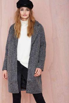 Glamorous Evangeline Marled Coat