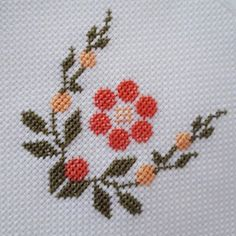No photo description available. Cross Stitch Letters, Cross Stitch Bookmarks, Cross Stitch Art, Cross Stitch Flowers, Cross Stitch Designs, Cross Stitching, Cross Stitch Embroidery, Stitch Patterns, Hand Embroidery Videos