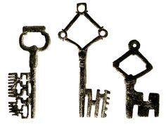 Medieval European Keys (14th and 15th Century)