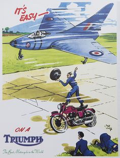 As seen in our Vintage calendar available now and priced to sell at http://shop.triumphmotorcycles.com/home/id-MCLA14236/Triumph_2015_Calendar
