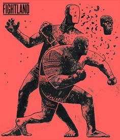 Super Samoan Raw, an art print by Gian Galang Character Art, Character Design, Boxing Posters, Arte Horror, Sports Art, Illustrations And Posters, Martial Arts, Comic Art, Concept Art