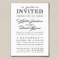 wedding invitation etiquette and wedding invitation wording | 21st - Bridal World - Wedding Lists and Trends