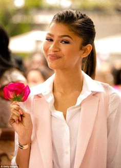 Zendaya at the LadyLike Foundation 7th Annual Women of Excellence Scholarship Luncheon in LA 06/13/15