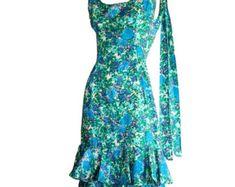 Vintage Navy Blue Rockabilly Dress / Silk Bow Sailor Dress W/ Nautical Theme / Mad Men Henri Bendel Royal Blue Full Skirt Dress Latex Fashion, Emo Fashion, Gothic Fashion, African Fashion Dresses, African Dress, Rock Style, Rock Chic, Pin Up Outfits, Gareth Pugh