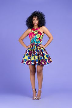African Print Sabrine Patchwork Mini Dress By Diyanu - African Fashion 2019 - Women Best African Dress Designs, Best African Dresses, Latest African Fashion Dresses, African Print Dresses, African Design, African Attire, African Style, African Outfits, African Prints