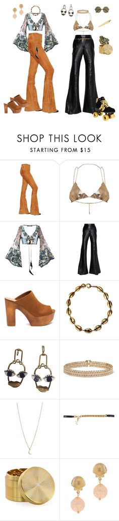 """Parents Diner vs Girls Night"" by aurora-cristaux ❤ liked on Polyvore featuring Drome, Roberto Cavalli, E L L E R Y, Yves Saint Laurent, Lanvin and Victoria Beckham"
