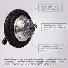400w 12v dc high torque electric motor