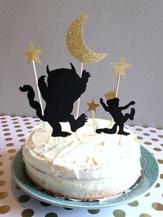 Where The Wild Things Are Paper Cake Topper's