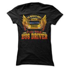 BUS DRIVER T-Shirts, Hoodies. VIEW DETAIL ==► https://www.sunfrog.com/LifeStyle/BUS-DRIVER-52344189-Ladies.html?41382