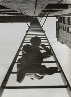 Alexander Rodchenko • Fire Escape (with a Man), 1925