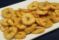 Plantain Chips - The unique flavor and texture of this fruit will make you a big fan of this recipe!