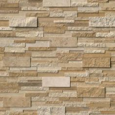 Order MS International Stone Siding - Travertine Casa Blend Multi Finish Casa Blend Multi Finish / Ledgestone / / Travertine, delivered right to your door. Stone Siding, Stone Cladding, Wall Cladding, Stone Exterior, Wall Exterior, Stone Walls, Stacked Stone Panels, Stone Veneer Panels, Fireplace Surrounds