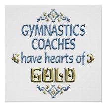 Gymnastics Coach Appreciation Posters