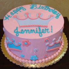 For Sofia's Birthday! Buttercream Party Cakes