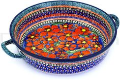 Polish Pottery Stoneware - I think this is so beautiful and it can stand alone as a decoration.