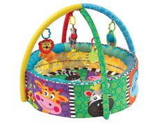 Bright colors and interactive pieces make this lively gymnasium a great place for little ones to play and explore. Baby Gym, Safari, Stages Of Play, Baby Activity Gym, Baby Equipment, Outdoor Toys, Sensory Toys, Kids Gifts, Baby Love