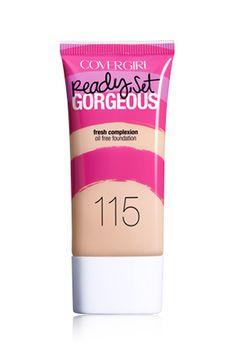 CoverGirl - Ready Set Gorgeous Foundation (115 - buff beige) 8,99$