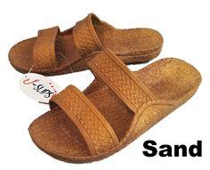 c3bf9a414083 Sand J-slips Hawaiian Jesus Sandals (Light Brown) 16 Sizes Kids to Adults
