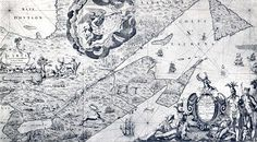 Fichier:Carte de La Nouvelle-France du XVIIe siècle dédiée à Colbert.jpg