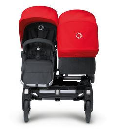 Designed specifically to grow with your family, the Bugaboo Donkey transforms – in just three simple clicks – from a mono to a duo stroller. And back again. This means you can use it for one kid, two kids of different ages, or twins.