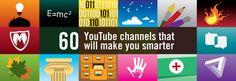 60 YouTube channels that will make you smarter — STARTUPS + WANDERLUST + LIFE HACKING — Medium