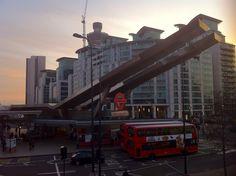Mystical Dusk @ London Vauxhall Cn Tower, Dusk, Mystic, Times Square, London, Building, Travel, Viajes, Buildings