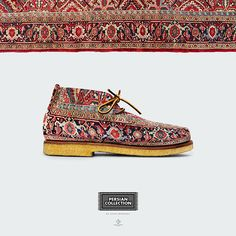 Anton Repponen's Persian Shoes are Inspired by Ornate Rugs #footwear trendhunter.com
