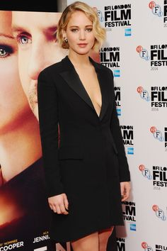 Jennifer Lawrence at the Serena premiere, October 2014   GETTY IMAGES   NEXT: Gifts for You: 5 Ultimate Indulgences for Every Sense 32 of 32