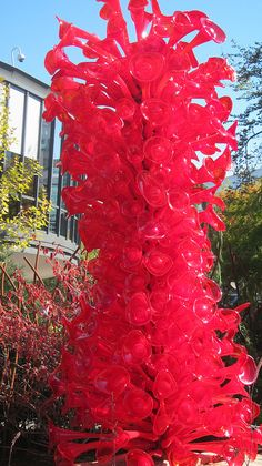 Diane Silveria, Chihuly Garden Glass, Seattle Been here Blown Glass Art, Art Of Glass, Glass Artwork, Glass Vase, Dale Chihuly, Sculpture Museum, Sculpture Art, Sculptures, Museum Of Fine Arts