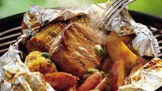 Grilled Honey BBQ Pork Packs | Holiday Cottage
