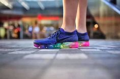 Nike Air VaporMax Flyknit 2018 Betrue Rainbow Women Men - Nike Air VaporMax Flyknit 2018 Betrue Rainbow Women Men Sneakers Hot Now New Style,,So Hot! All Nike Shoes, Nike Shoes Online, Nike Shoes Outfits, Nike Shoes Cheap, Nike Basketball Shoes, Nike Free Shoes, Running Shoes Nike, Men's Outfits, Shoes Uk