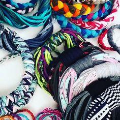 Jak minął weekend? Bizuteryjnie! #handmade #rekodzielo #rękodzieło #pracowicie #pracawre #workinprogress #jewellery #biżuteria #colors #cotton #colorlove