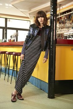 Sonia by Sonia Rykiel Spring Summer 2016 Pre-Collection shot by Sonia Sieff, with the model and it-girl Langley Fox.