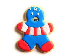 Captain America / Superhero / Comic Book / por guiltyconfections