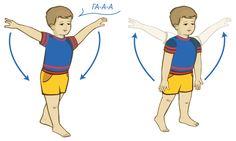 Дыхательные упражнения для детей Гуси полетели