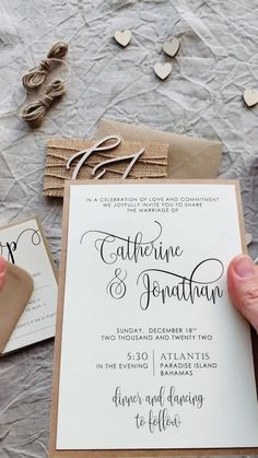 Rustic Monogram Wedding Invitations inspired by rustic and country weddings; and if you love the rustic style, you found the perfect invitation. The set includes all that you see in the pictures and full assembly. Visit to find it.