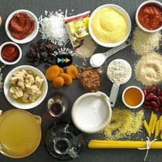 Tabla para sustituir ingredientes
