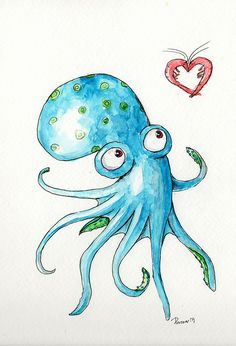 Octopus - Looking for Love by Dot D, via Flickr