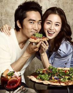 Song Seung-heon & Kim Tae Hee