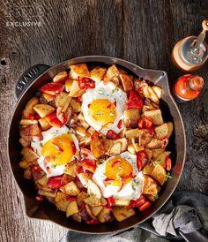 Nigella Lawson's Baked Egg & Potato Hash Recipe