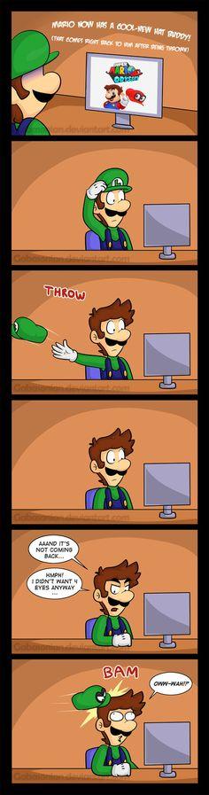 Luigi Oddysey