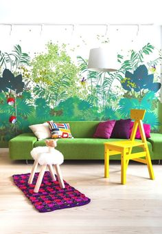 Colorful Home Decoration