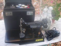 antique singer 221 featherweight sewing machine  by funknjunkinc, $495.00